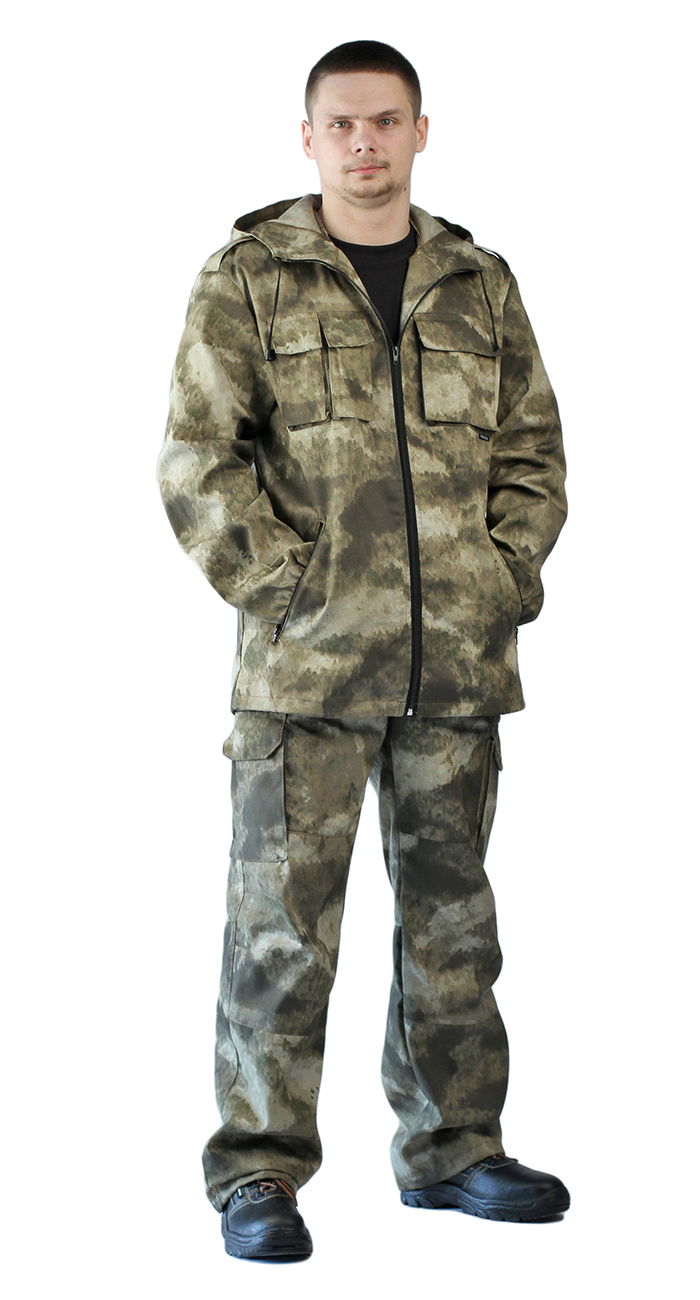 Костюм мужской Турист 2 летний, камуфляж Твилл Бежевые облака, Летние костюмы - арт. 1004880260