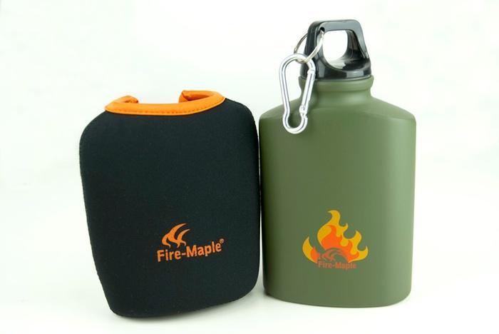Фляга пищевая алюминиевая с термочехлом ARMY BOTTLE FMP-312, 450, Фляги - арт. 315180170