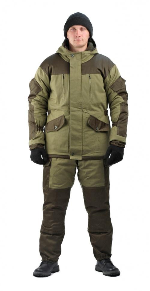 Костюм мужской Горка 3 демисезон/зима, ткань палатка, синтепон+флис