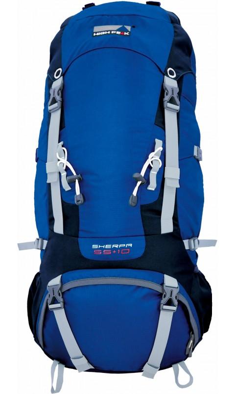 Рюкзак Sherpa 65+10 синий, 65+10л, 2040 гр, 31109, Трекинговые рюкзаки - арт. 824880269