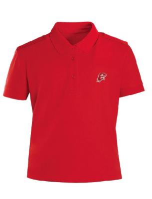 Купить Рубашка поло Юнармия короткий рукав, красная, Форма одежды