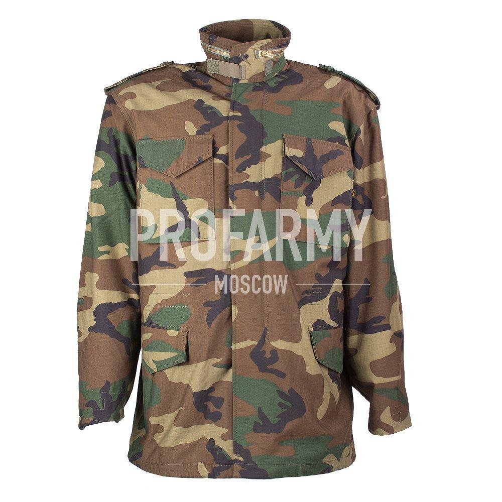 Куртка Альфа М-65 Woodland, Тактические куртки - арт. 916580335