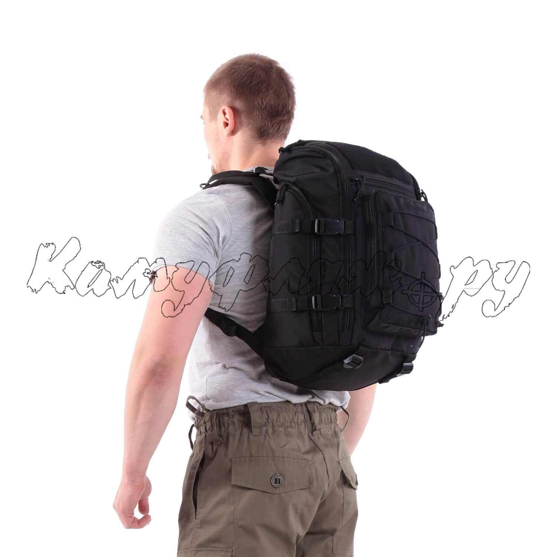 Рюкзак KE Tactical Sturm 30л Polyamide 500 Den черный, Тактические рюкзаки - арт. 1001600264