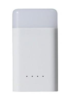 Фонарь+Зарядное устройство, ударопрочный и водостойкий CUBE QUICK Power Bank Light, 400люмен/10800мАч White, GY020009, Батарейки и аккумуляторы - арт. 814560464