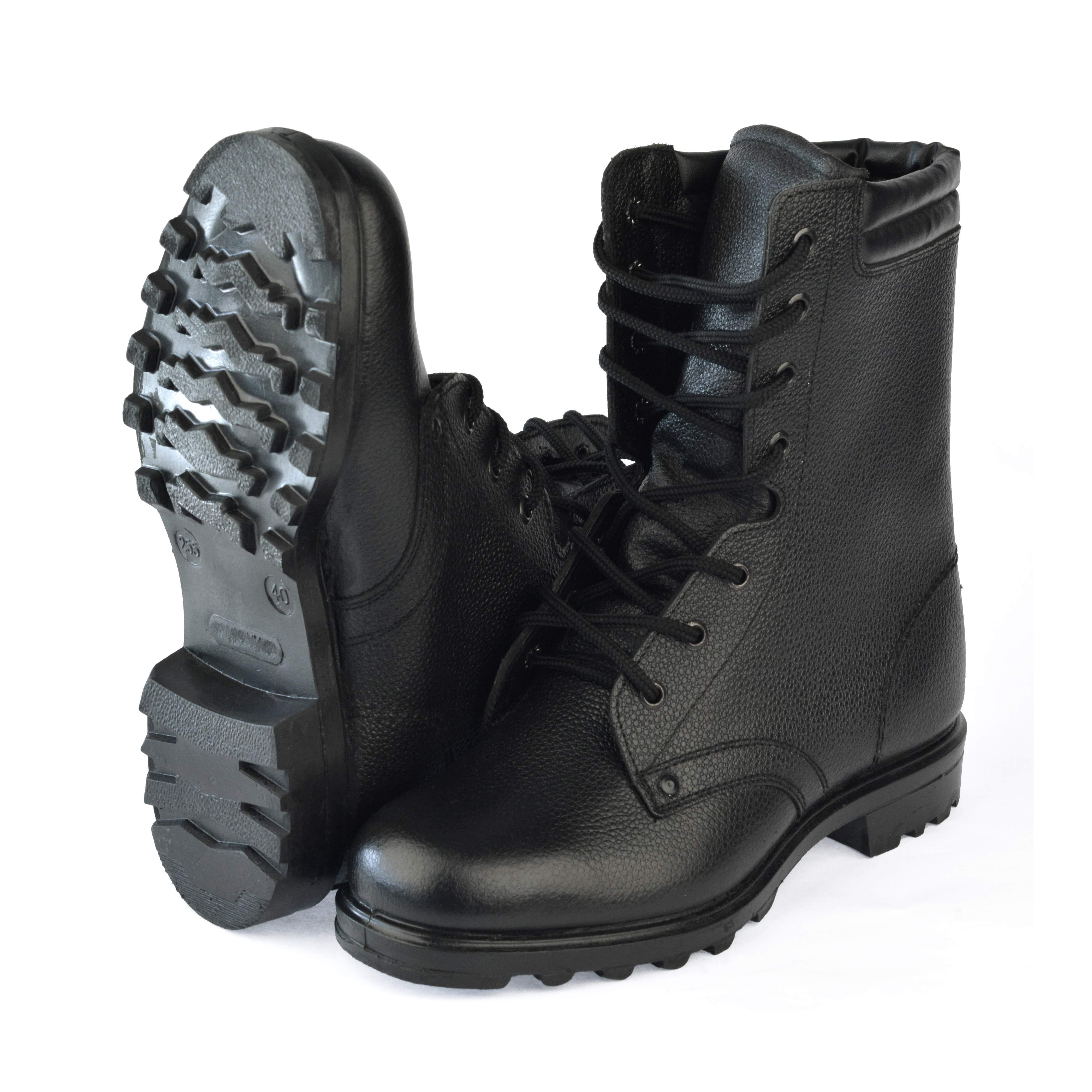 Ботинки с высокими берцами Армейские верх-юфть, подошва-резина, Ботинки с высокими берцами - арт. 1003820245