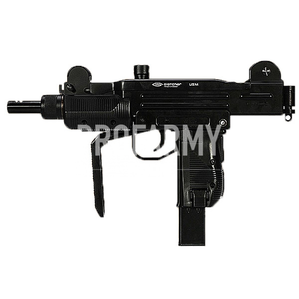 Пистолет-пулемет пневматический Gletcher UZM, Пневматическое оружие - арт. 895190445
