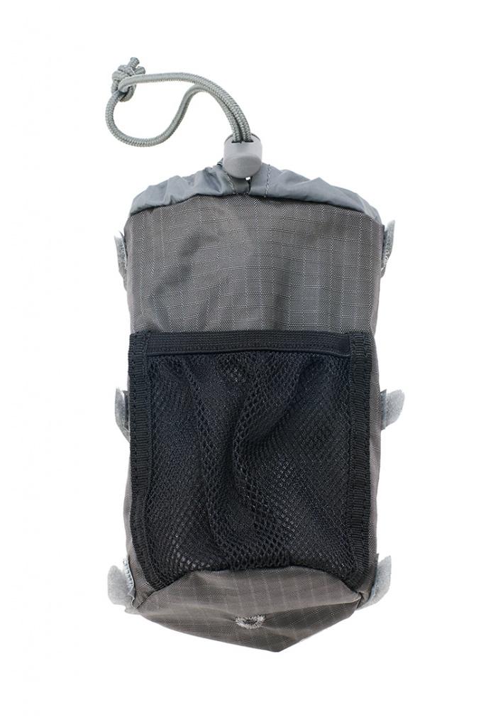 Купить Карман для питьевой фляги на лямке для серии BASK NOMAD темно-серый, Компания БАСК