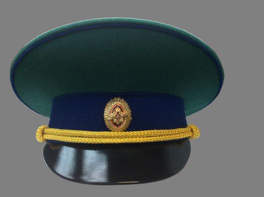 Купить Фуражка Пограничные войска (нового образца) повседневная модельная, Полковник Воронов