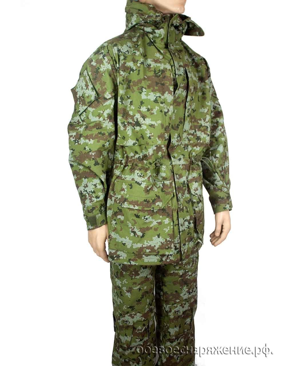 Куртка парка камуфляжная тактическая FCP, камуфляж пограничник, Куртки - арт. 1146590156