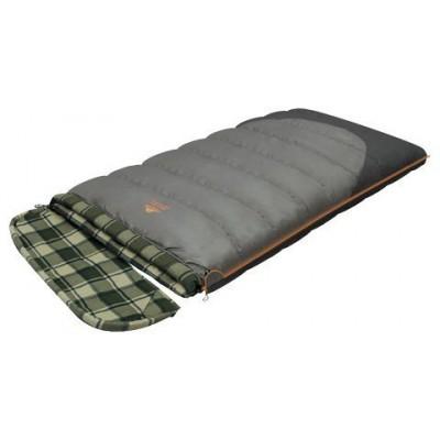 Мешок спальный SIBERIA WIDE TRANSFORMER одеяло, серый, левый, Постельные принадлежности - арт. 263990397