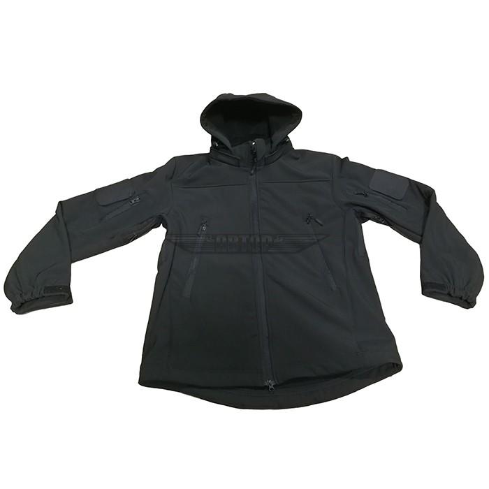 Куртка Софтшелл черная, Куртки - арт. 994650156