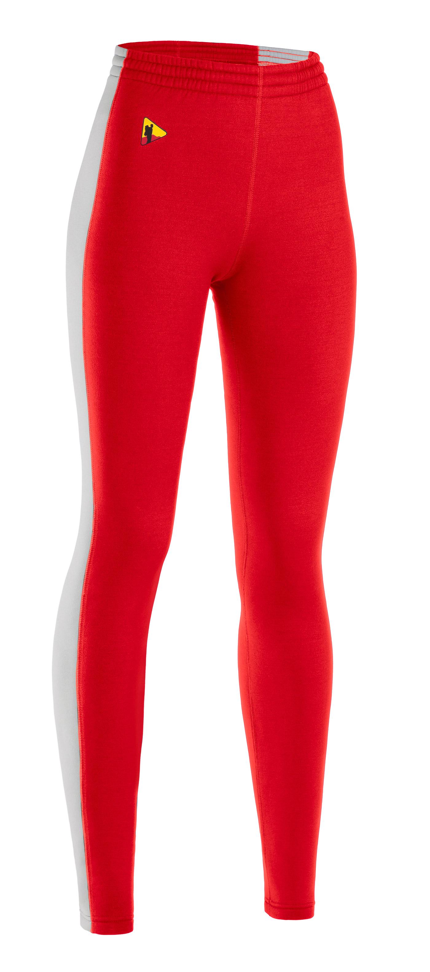 Купить Термобелье брюки женские BASK T-SKIN LP LADY PNT красный/серый свтл, Компания БАСК