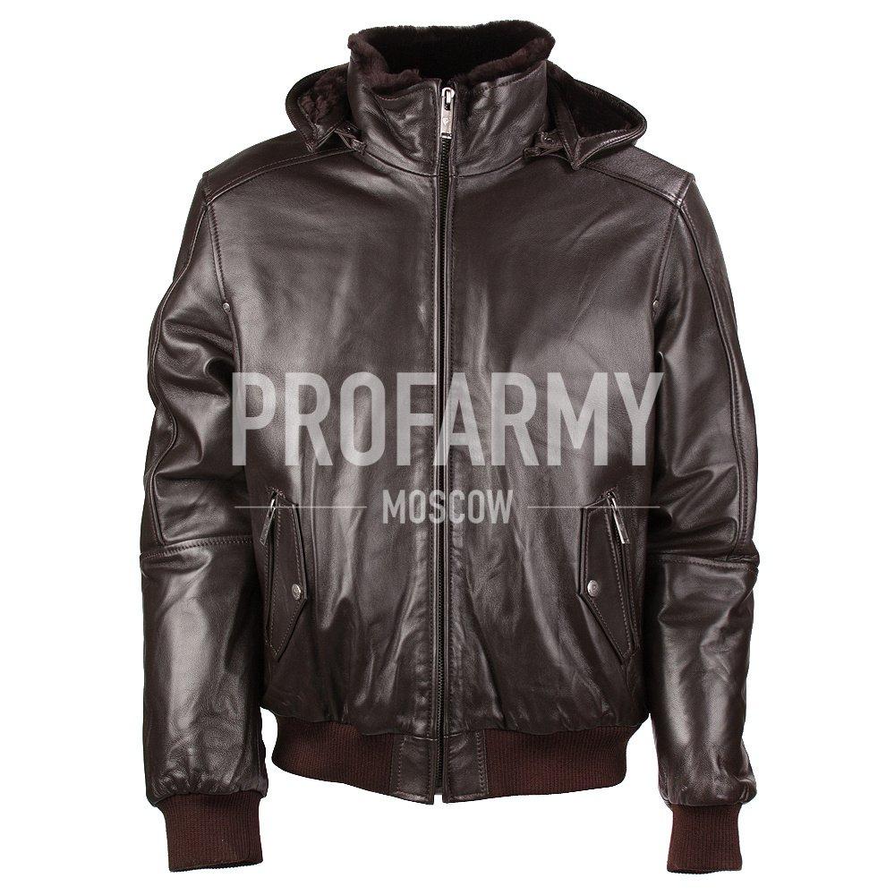 Куртка Nappa Brown 7165 (темно-коричневый)