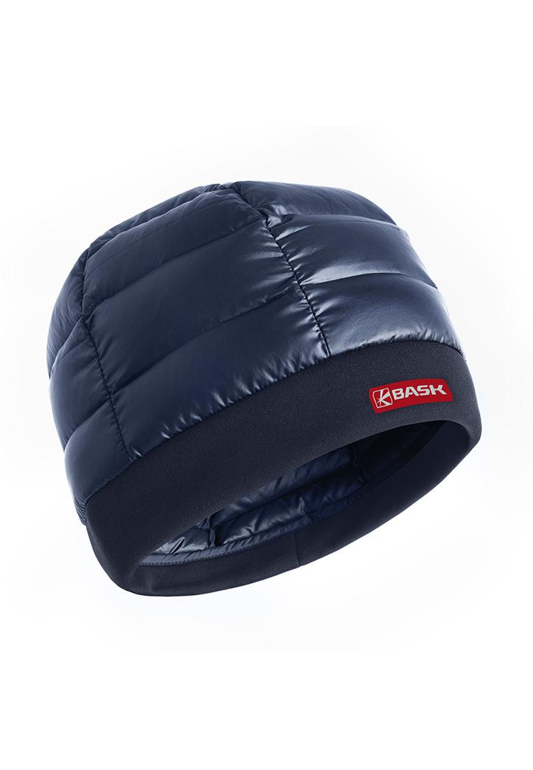 Купить Шапка пуховая BASK SAVIOR темно-синяя, Компания БАСК