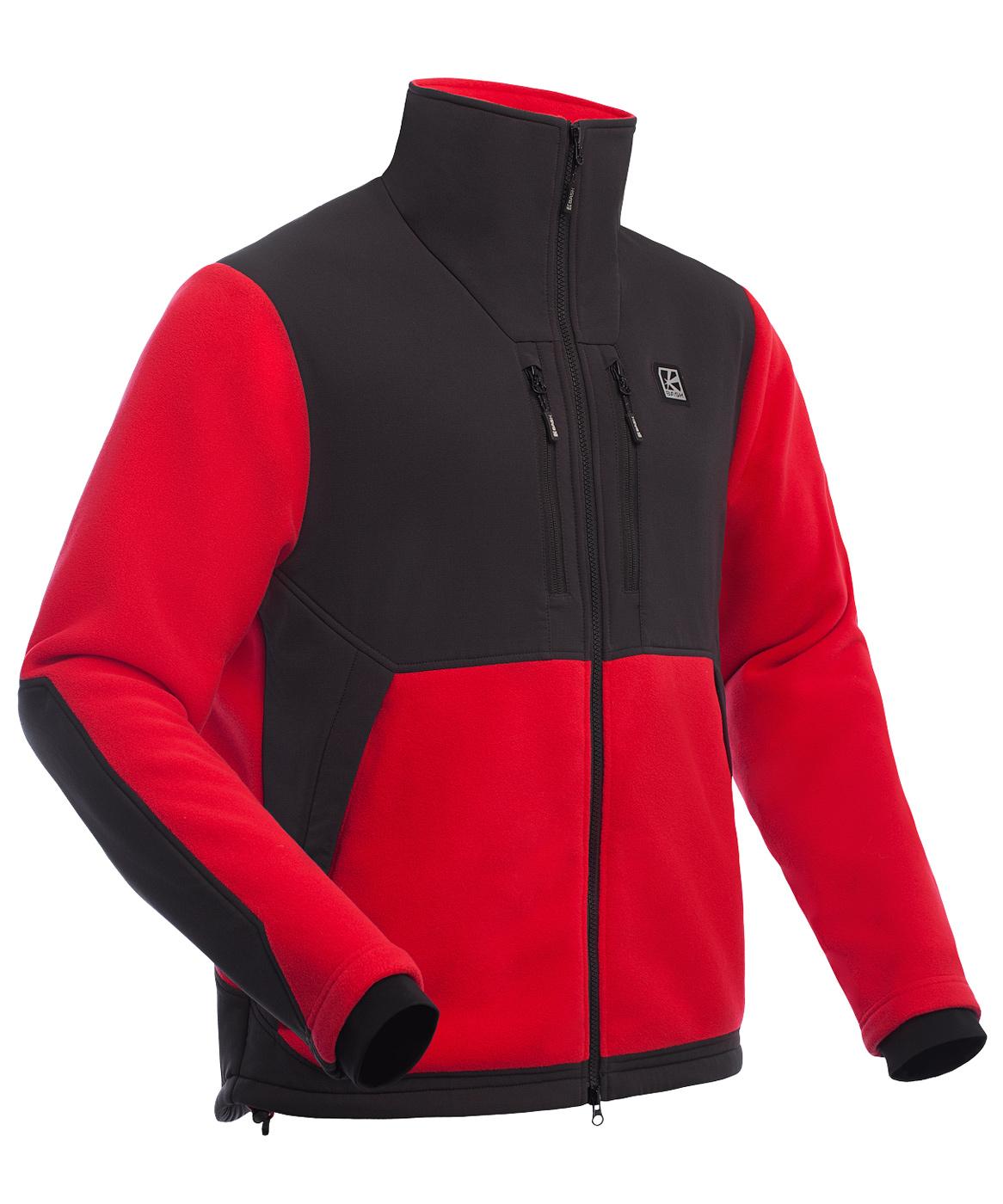 Куртка мужская Polartec BASK GUIDE красная, Куртки из Polartec и флиса - арт. 1066470330
