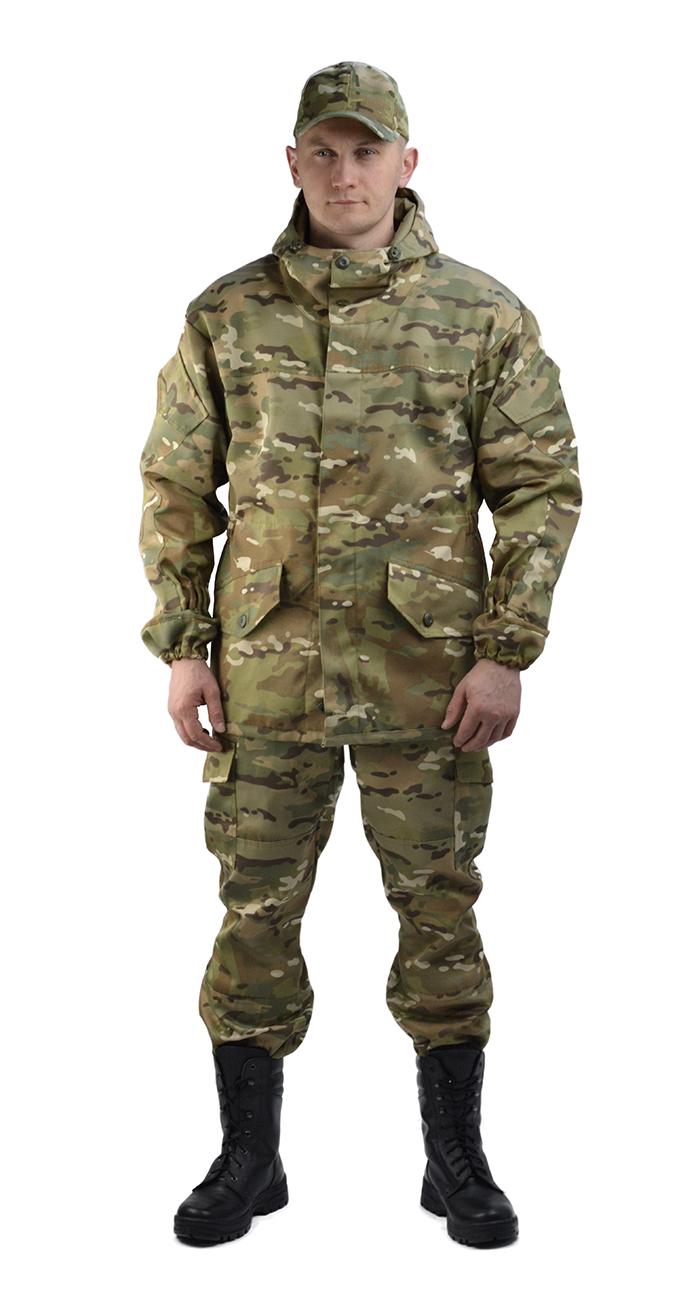 Костюм Горка 3 куртка/брюки, камуфляж МУЛЬТИКАМ, ткань грета, Брюки - арт. 1032690151