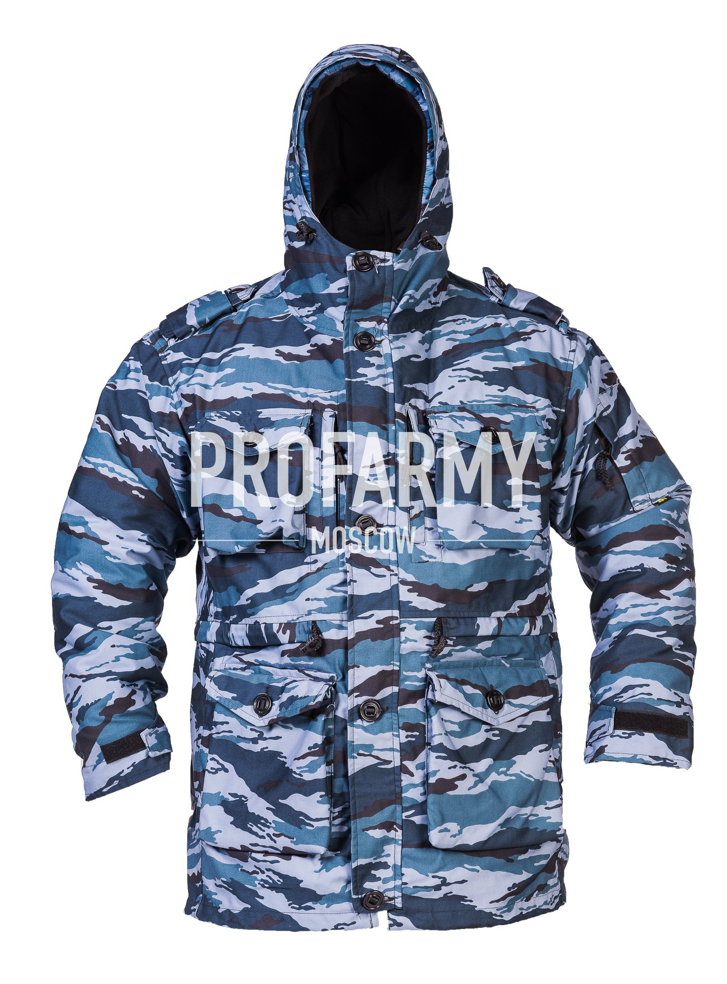 Куртка Смок (серый камыш) твил