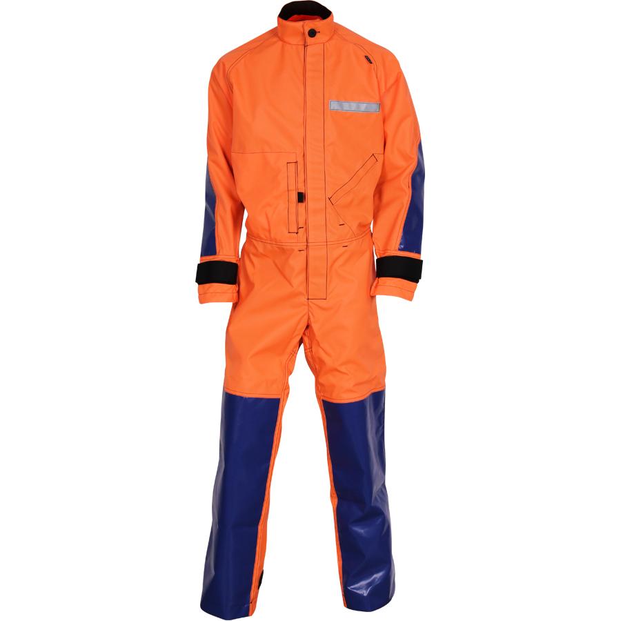 Спелеокомбинезон - Cordura® 500 оранжево-синий, Рабочие костюмы - арт. 1037570257