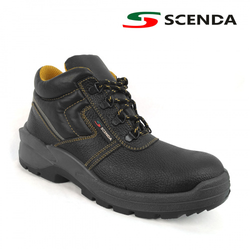 Ботинки кожаные PROFI с МП - артикул: 802150242