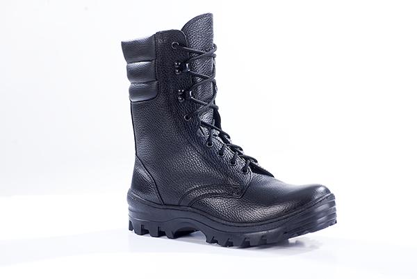 Ботинки с высокими берцами ОМОН кожа 901, Ботинки с высокими берцами - арт. 1141120245