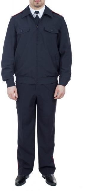 Костюм Полиция мужской (ткань габардин), Форменные костюмы - арт. 1019370247