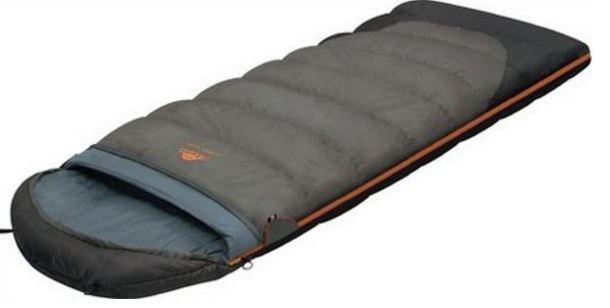 Мешок спальный TUNDRA Plus XL серый, левый, (195+35) x 110, Экстремальные (Зима) спальники - арт. 264110370