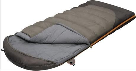 Мешок спальный SUMMER WIDE PLUS одеяло, серый, левый, Постельные принадлежности - арт. 264030397