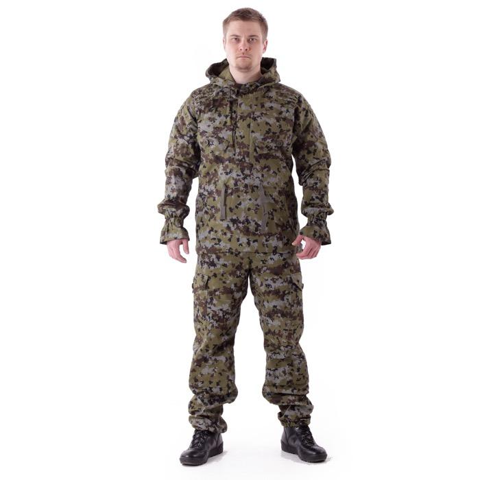 Костюм Снайпер-2 анорак рип-стоп с налокотниками и наколенниками цифра-2, Куртки - арт. 983190156