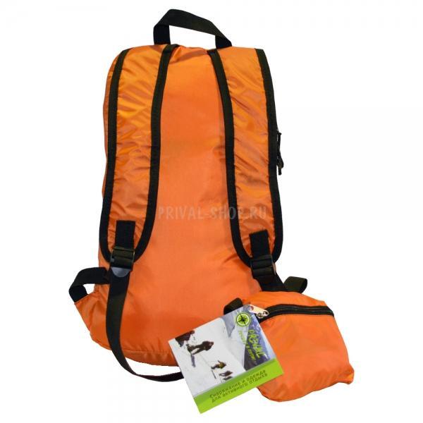 Купить Рюкзак Карманный оранжевый, Prival