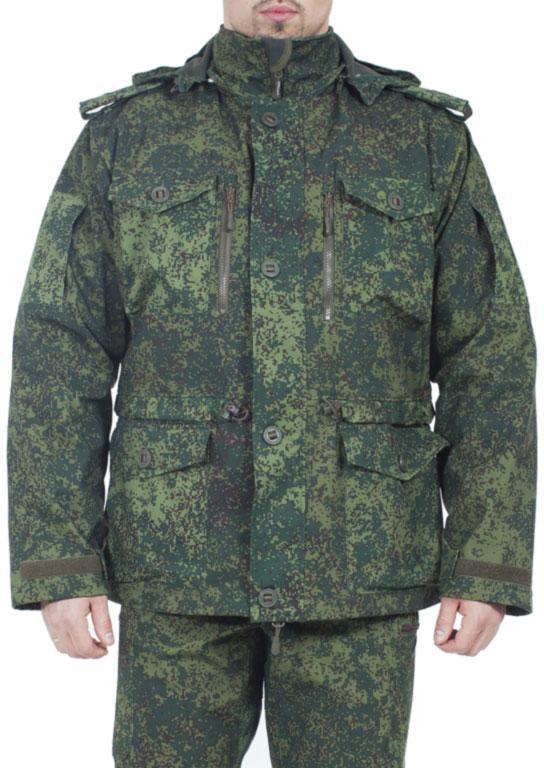 Куртка всесезонная МПА-02 (СМОК-3) софтшелл зеленая цифра