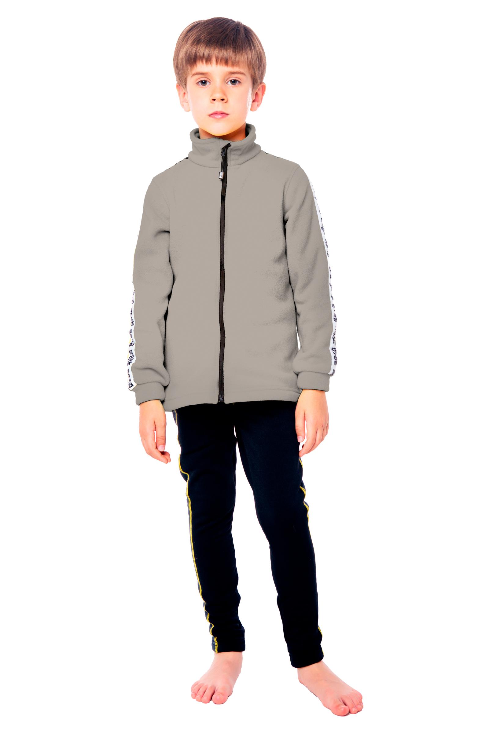 Купить Куртка флисовая детская BASK kids PIKA серый свтл, Компания БАСК