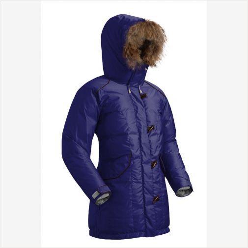 Куртка пуховик ALBERTA темно-синяя