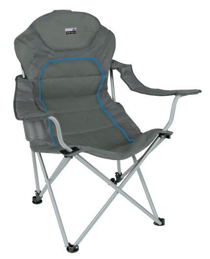 Кресло Alicante темносерый/голубой, 44117, Мебель - арт. 1039540219