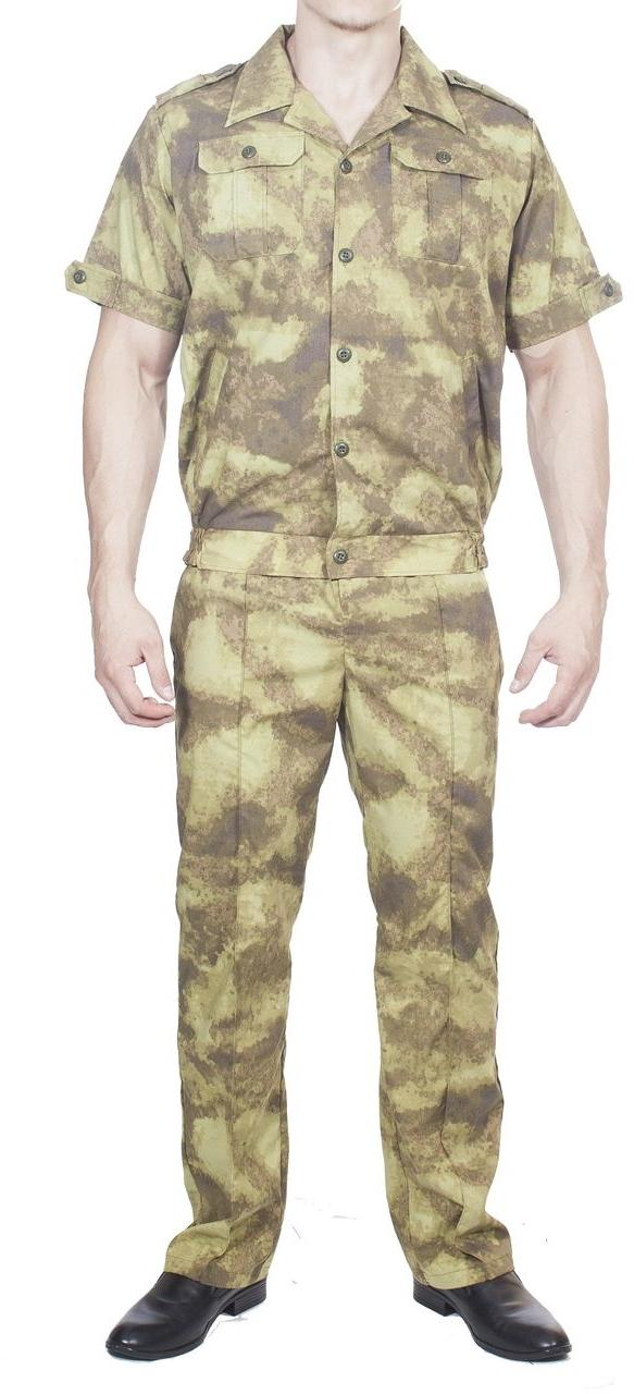 Костюм летний МПА-08 (Пелей-2), камуфляж лес, ткань Панацея