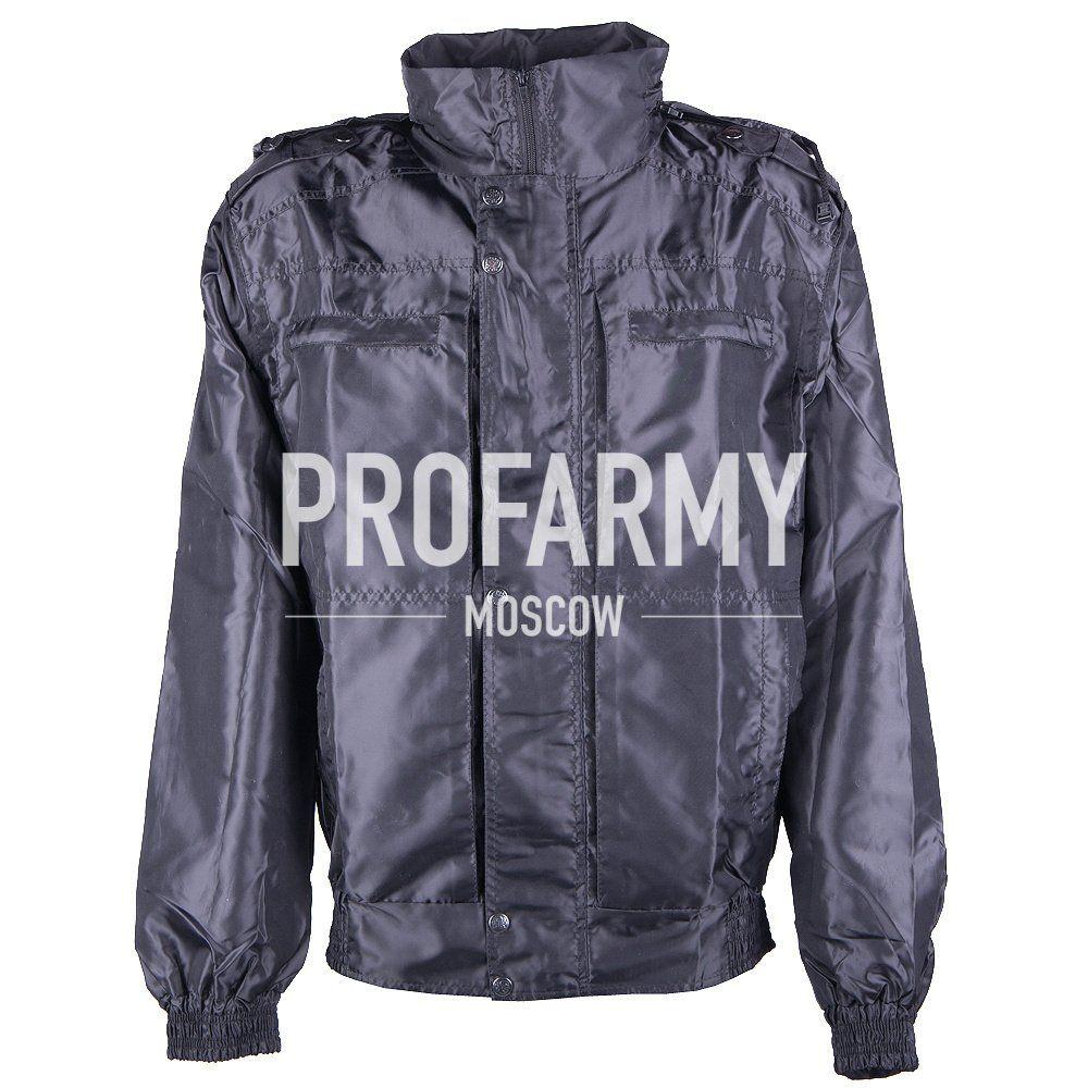 Ветро-влагозащитная куртка ВВЗ (черная), Защита лыжников/сноубордистов - арт. 1052500422