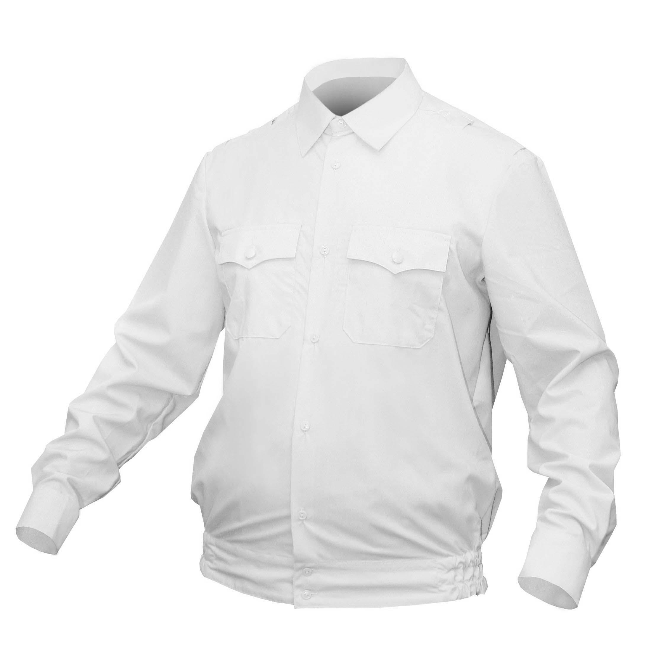 Рубашка Полиция белая длинный рукав