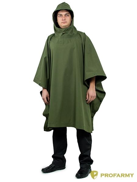 Пончо Under rain мембрана Rain off Olive Green, Плащи влагозащитные - арт. 1056950332