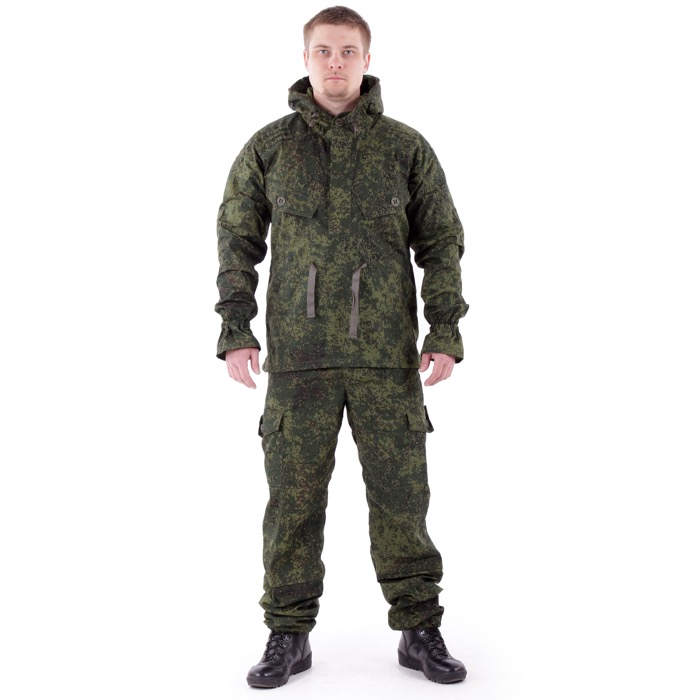 Костюм Снайпер-2 анорак рип-стоп с налокотниками и наколенниками цифра, Куртки - арт. 983060156