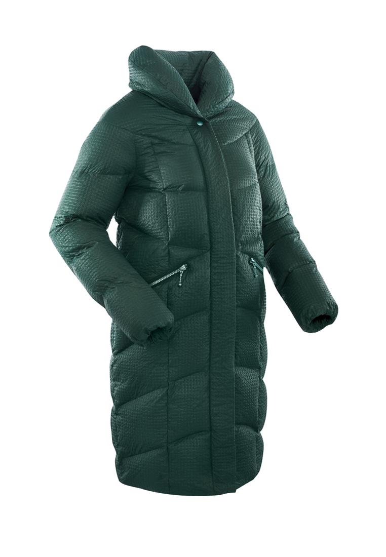 Пальто пуховое женское BASK LUNA темно-зеленое, Пальто - арт. 971210409