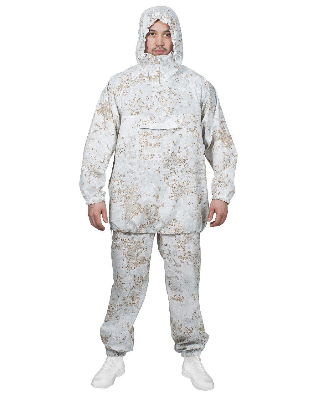 Костюм маскировочный МПА-43 pencott снег