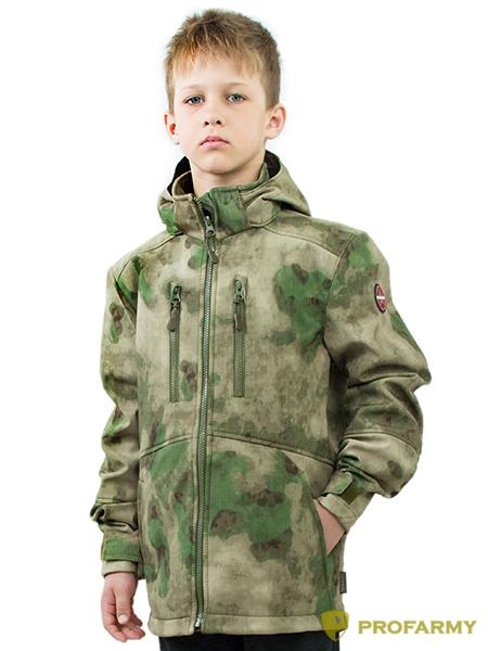 Куртка детская Softshell TURBO (мох), Куртки - арт. 1072140156