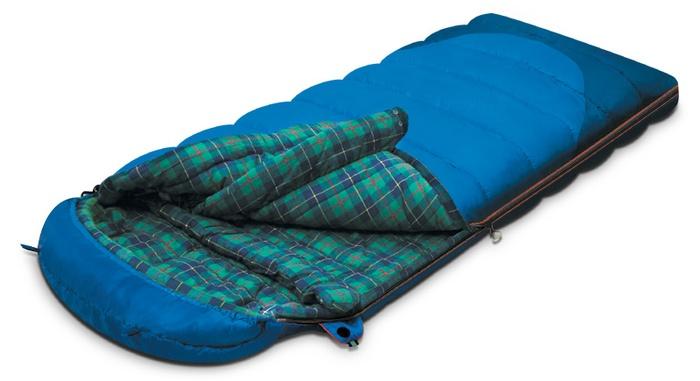 Мешок спальный TUNDRA Plus синий, левый, Трехсезонные (Весна/Осень) спальники - арт. 264090371