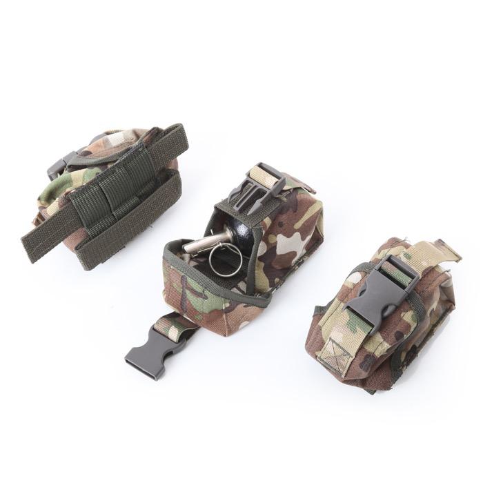 Подсумок KE для гранаты с глухой крышкой multicam