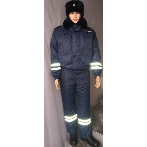 Костюм ДПС зимний (мембрана, подкладка фольга, наполнитель холофайбер), Зимние костюмы - арт. 1019060258
