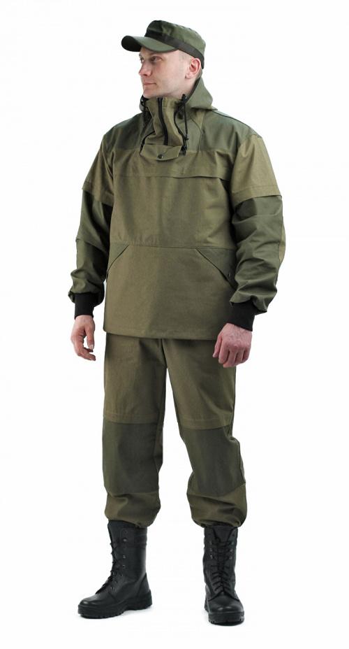 Костюм противоэнцефалитный-2 летний, палатка хаки+олива 235, с ловушками и бязевой юбкой