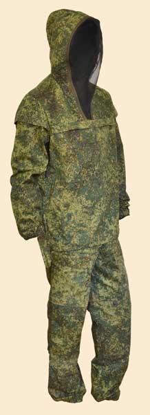 Костюм МПА-09 Противомоскитный (Зеленая цифра)
