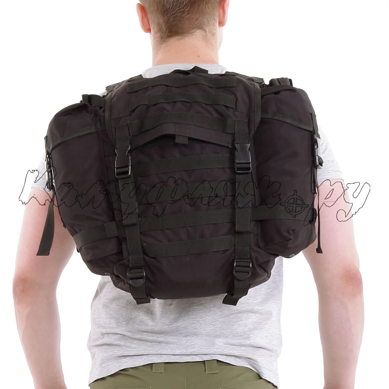 Ранец патрульный УМБТС 6ш112 25 литров Polyamide 500 Den черный, Тактические рюкзаки - арт. 1001630264
