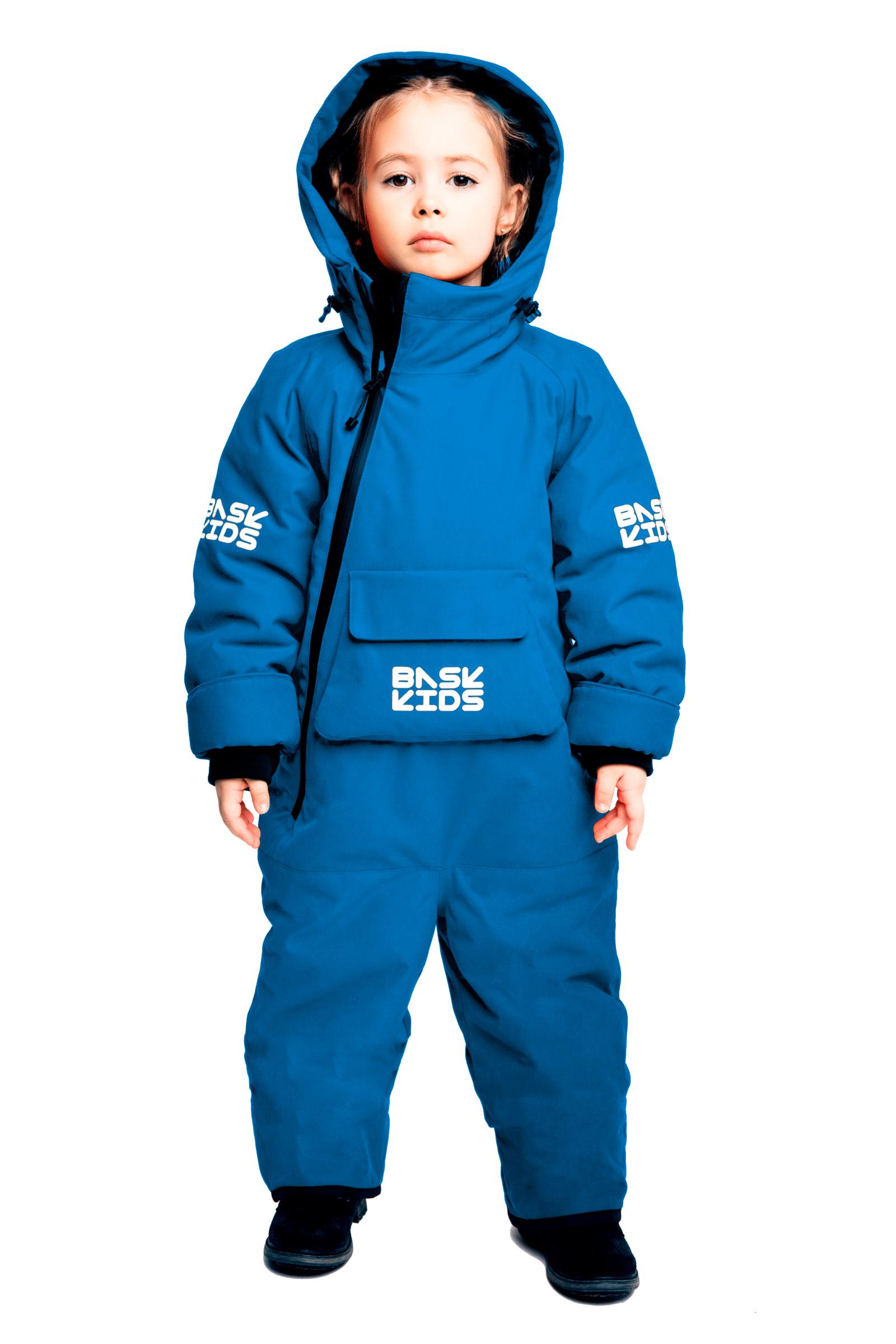 Купить Комбинезон утепленный BASK kids SPACE синий, Компания БАСК