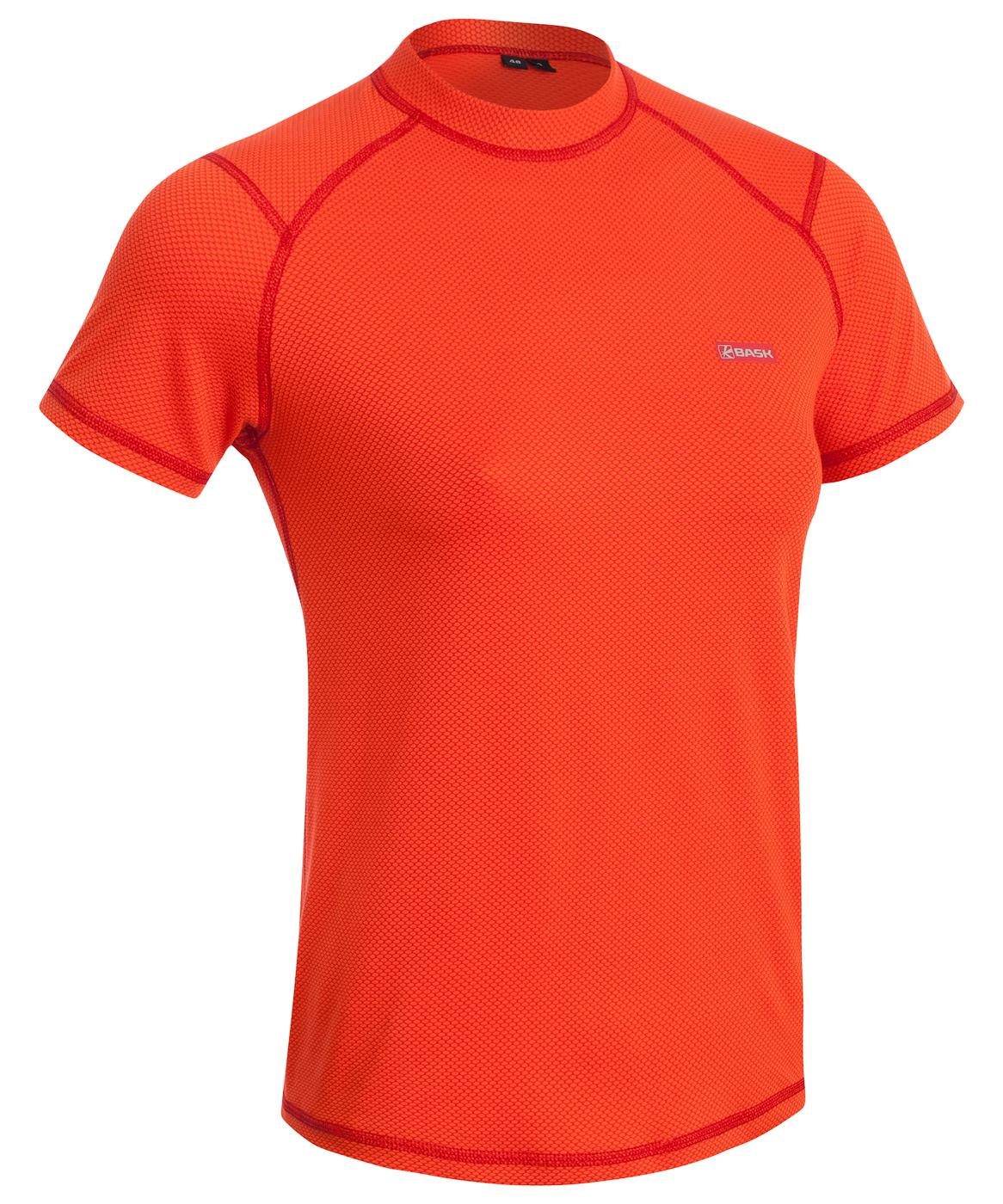Купить Термобелье футболка BASK SAHARA оранжевая, Компания БАСК