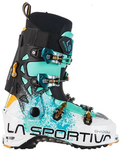 Купить Горнолыжные ботинки Shadow White/Mint, 88S000609, La Sportiva